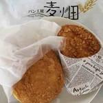パン工房 麦畑 - 料理写真:カリカリチーズカレー、本格カレードーナツ