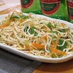 老北京 火鍋料理 蝎子王 - 干し豆腐の和え物