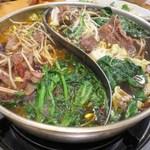 老北京 火鍋料理 蝎子王 - 羊蝎子鍋