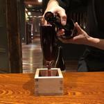 熟成ステーキ・牛鍋 座頭牛 分家 - こぼれワイン(赤)