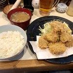 とん太 - お昼の定食 ヒレカツ
