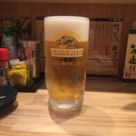 きはち屋 - 生ビール