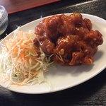 中華料理 旺華楼 - 揚げ鶏が柔らかくて美味しい(^∇^)