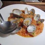 美麗酒場 couta - ここで魚貝のリゾットを注文しました。