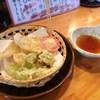 くつろぎ亭ひこべえ  - 料理写真:キスとふきのとうの天ぷら