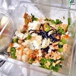 タキモト - ミルフィーユ寿司(食べかけで失礼します)