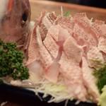 魚三酒場 - 天然鯛サービス品 570円