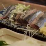 魚三酒場 - 鰯 340円