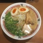 階杉 - 味玉ラーメン〜♪( ´▽`)