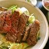 賀茂川 - 料理写真:飛ぶほど売れる天草黒毛和牛の焼肉丼(期間限定メニュー)1600円