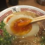 階杉 - 味玉リフト〜♪( ´▽`)