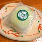 青柳菓子舗 - 生クリーム大福抹茶