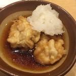 天ぷらまきの - 鱈の白子天