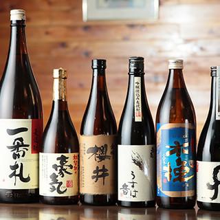~和食の魅力を引き出す厳選美酒~コスパに優れた【焼酎】も…