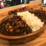 カレーの店 凡亭 - 料理写真:MIXソース(鶏+茄子)