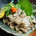 九州あかちょうちん - 豚なんこつ葱ポン