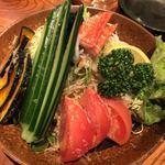 刺身屋新太郎 - 新太郎サラダ