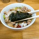 竜家 - 海苔巻き巻き食べましたハハッ♪