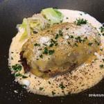 RUTSUBO KITCHEN - チェダーチーズハンバーグ
