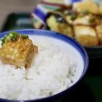 82112004 - 揚げ出し豆腐とご飯