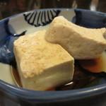 居酒屋日本海 - 豆腐!
