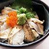 レストラン 至誠 やくも - 料理写真:ミニのどぐろ炙り丼
