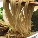 むぎとオリーブ - 京都「麺屋 棣鄂(ていがく)」(瑞穂食品工業)さんと共同開発、という麺。