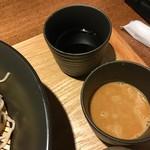 モダンバル 餐仕 - 信州蕎麦(大盛+ゴマダレ変更)