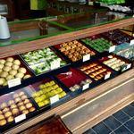 82116703 - 塩羊羹の有名店ですが見目麗しい和菓子も。