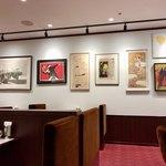 はまの屋パーラー - 昔の喫茶店の様な椅子