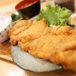 ばんぶう - チキンカツ定食