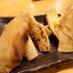 日本橋 墨之栄 - タケノコ焼き