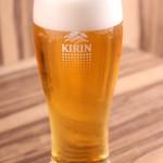 麺や ふくわらい - 生ビール