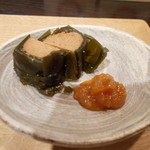 サケショップ フクミツヤ - カニ味噌、タラコ昆布巻き