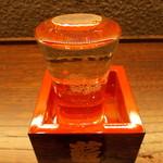 東京赤坂 やぶそば - 菊正宗樽酒