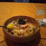 丸子 - 料理写真:たらこイカ海老あさり(╹◡╹)♡