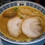 麺道 而今 総本家 - 料理写真:【たまり醤油の極み煮干しそば 並 + 味玉】¥750 + ¥100