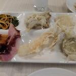 エピナール那須 - 夕食:天ぷらなど