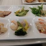 エピナール那須 - 夕食:サラダ