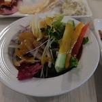 エピナール那須 - 夕食:生野菜