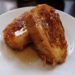 エピナール那須 - フレンチトースト(メイプルシロップ)