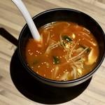 焼肉じゃんじゃん亭 - カルビスープ