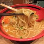 82127470 - 森住製麺のストレート太麺