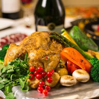厳選食材を使った逸品料理とお酒の種類が自慢です!