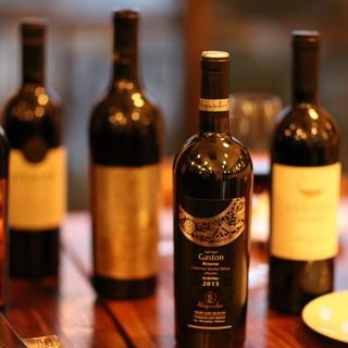 今晩のワイン、イスラエルワインはいかがですか?