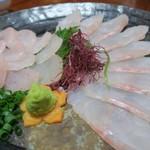 福吉 - 料理写真:アオナ=クエでした