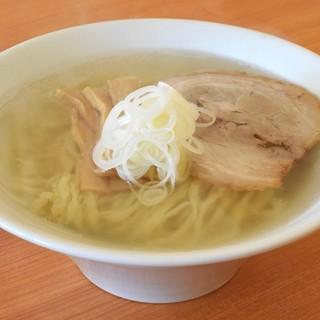 うえんで - 料理写真:会津山塩ラーメン