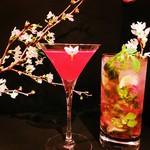 Bar Keizo - 桜のカクテル