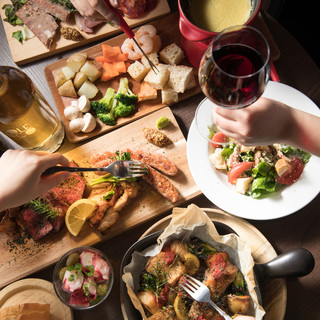 思い出に残るひと時を◎パーティや記念日にぴったりなコース料理