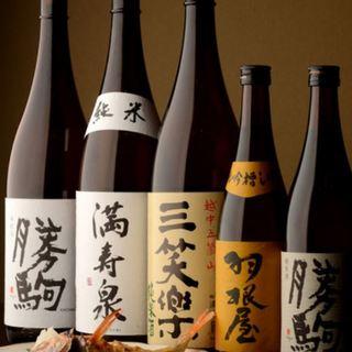 『勝駒』『満寿泉』など、富山の地酒をお見逃しなく